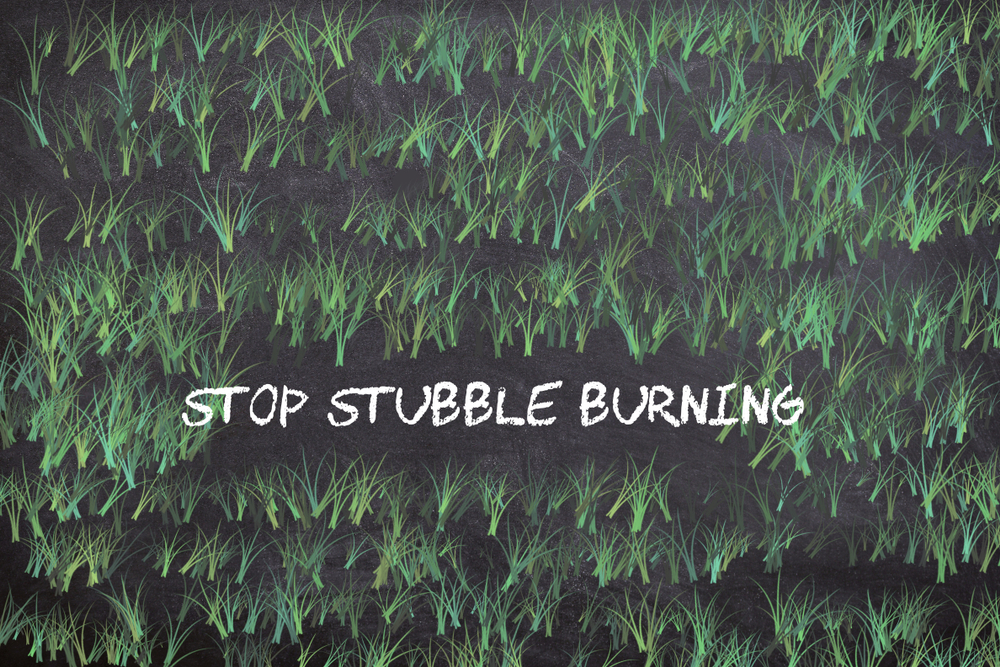 Developing community led sustainable solutions to prevent crop stubble burning-'No Burn Farm'